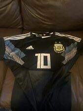 Adidas Argentina Away Black Cd8565 Jersey Men's Size Xl Messi-Msrp World Cup.