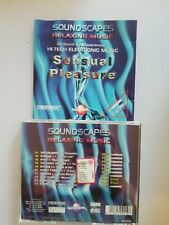 COMPILATION - SOUNDSCAPES RELAXING  MUSIC -SENSUAL PLEASURE (CYBERTRACKS)  -  CD