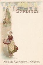 NANTES SARDINES Arsène SAUPIQUET bretonne