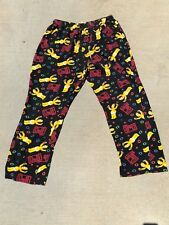 The Simpsons pajama pants - featuring Homer and the Duff logo - Large