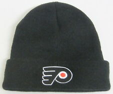 NHL Philadelphia Flyers Youth Black Cuffed Knit Hat By Reebok
