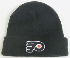 NHL Philadelphia Flyers Youth Black Cuffed Knit Hat By Reebok