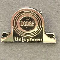 Rare Vtg  Dodge Unisphere Metal Arts Tie Tack Lapel Pin Bearing Marketing Ad