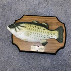 Vintage Big Mouth Billy Bass Wall Picture 1999 Singing Fish - Fully Working
