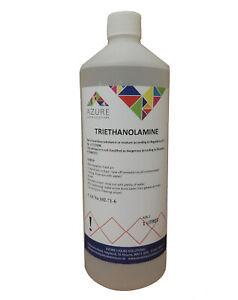 Azure Triethanolamine Chemically Pure Form pH Adjuster - 1L