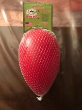 Jolly Egg Pets RED for dogs furry animals. (IT FLOATS)