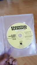 Essential Elements 2000 Cd for Eb Alto Saxophone Book 1