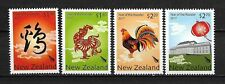 New Zealand, Nowa Zelandia Mi. 3424/27  Year of the Rooster