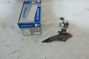 Campagnolo Racing T Triple Front Derailleur, 32mm - Bottom Pull