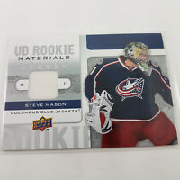 2008-09 Steve Mason UD Rookie Materials Capitals NHL Upper Deck Hockey RM-MA #1