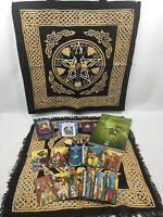 Morgan Greer Tarot Set - PLUS Goddess Tote And Layout Cloth, Quartz & Bag, Book