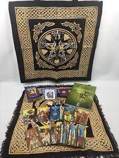 Morgan Greer Tarot Set - PLUS Goddess Tote And Layout Cloth, Quartz & Bag, Book