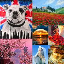 Diverse DIY Paint By Number Kit Digital Acrylic Oil Painting Home Wall Decor
