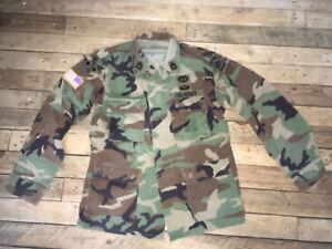 Us Army Woodland Feldjacke, Viele Patches..!