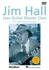Jim Hall Jazz Guitar Master Class Principles of Improvisation DVD NEW 000320946