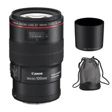 Canon EF 100mm f/2.8L Macro IS USM Lens for DSLR Camera Bodies