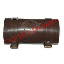 Vintage Brown Leather Tool Bag Roll With M Logo Engraving Customised S2u