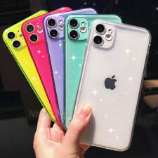 Transparent Glitter Crystal Shockproof Phone Case Cover For iPhone 11 Pro Max