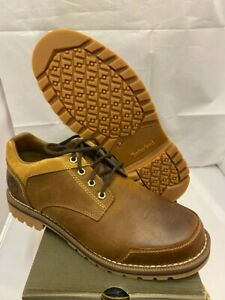 Mens TIMBERLAND Larchmont Brown Leather Lace Up Smart Shoes size UK 9.5 44