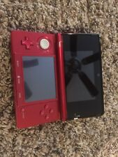 Nintendo 3ds Red With 11 Games
