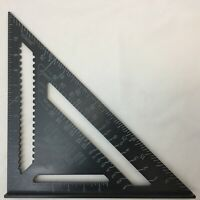 "SPEED SQUARE ROOFING RAFTER ANGLE TRIANGLE  MEASURE 12"" 300mm ALUMINIUM  ALLOY"