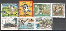 R5037 - AUSTRIA 2001 - SERIE COMPLETA 7 TEMATICHE - VEDI FOTO