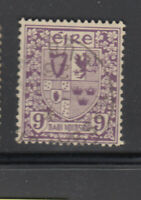 Ireland 1922-23  9 d  coat of arms   Sc 74  fine used