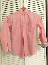 Cynthia Munro Hadfields Ltd. Pink 65% Poly/ 35% Cotton Show Shirt Girl's Sz 10