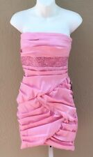 NWT RUBY ROX Pink Juniors Party Cocktail Prom Dress 5 **Made in USA**