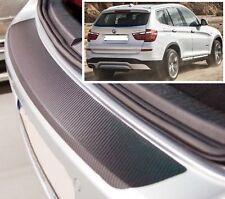 BMW X3 F25 - CARBONE STYLE Pare-chocs arrière protection