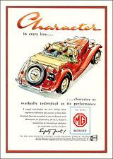 MG Vintage advert