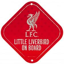 Liverpool Little Dribbler Sign Metal Car Gift Official Licensed Football Product