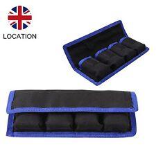 Pouch 4 Nylon Case Holder Storage Bag For Sony Canon Li-ion Camera Battery UK