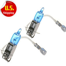 2x H3 Halogen 6000K 55W Fog/Driving Light Bulbs Bright White Xenon Replacement