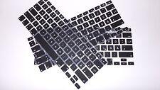 "GERMAN Keyboard Silicone Skin for MacBook Air, Pro 13""-17""(Not Fit 2016 Macbook)"