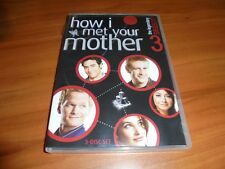 How I Met Your Mother - Season 3 (Dvd, 2008, 3-Disc Widescreen) Used 3rd Three