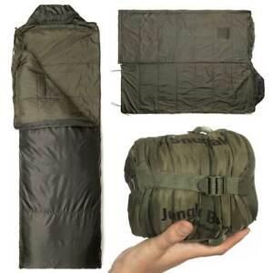 SNUGPAK JUNGLE SLEEPING BAG Lightweight Compact Summer Military Army 1 Season