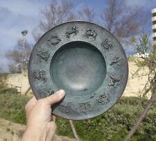 Fritz NUSS, 266mm Zodiac bowl astronomy astrology, mythology, Germany