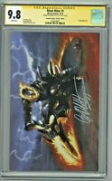 Ghost Rider #1 CGC 9.8 SS Scorpion Comics Virgin Edition Gabriele Dell'Otto COA