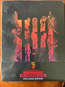 Black and White Stripes The Juventus Story Blu Ray Steelbook Italian Football