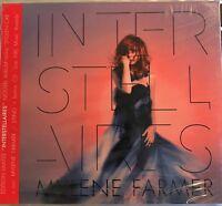 """MYLENE FARMER : """"Interstellaires"""" + """"Bonus CD NRJ Musics Awards"""" (RARE 2 CD)"""