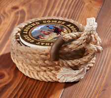 Coiled Lariat Coaster Holder Western Decor Nature Inspired Coiled Great Gift Ide