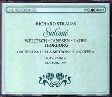 Richard STRAUSS: SALOME 1949 MET Ljuba Welitsch Herbert Janssen FRITZ REINER 2CD