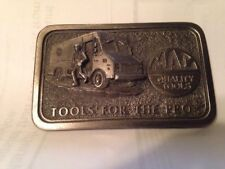 Vintage Mac Tools Tools for the Pro' Belt Buckle Limited Ed Pewter USA Free Ship