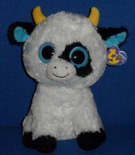 """Ty Beanie Boos - Daisy the 9"""" Cow (Medium) - Near Mint Tag"""