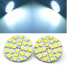 4x Back Pins Replace Halogen Spotlight 24LEDs Cool White 6500K G4 LED Bulbs 5W