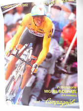 "Campagnolo Miguel Indurain Poster Tour de france Banseto tdf 1992 34""x24"" NOS"