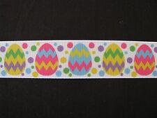 """easter egg grosgrain ribbon 7/8"""" per 1 m hair scrapbooking card making"""