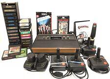 Atari CX-2600 un Zigrinato 4-Switch Console Gioco Sistema Giochi Manuali