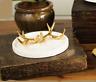 Ceramic Deer Antler Ring Dish Jewelry Holder / Tower /Plate Organizer Home Decor